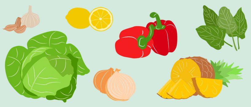 Warzywa iowoce, które warto jeść wsezonie wzmożonych infekcji