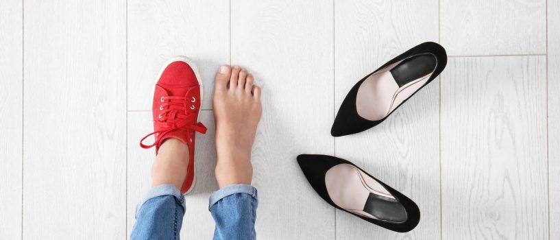 Dezynfekcja obuwia: wszystko, co musisz o niej wiedzieć