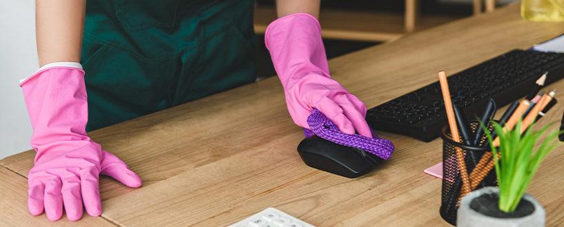 5 milionów biurek dosprzątnięcia wciągu kilku dni? Ostandardach czystości idezynfekcji wpolskich biurach