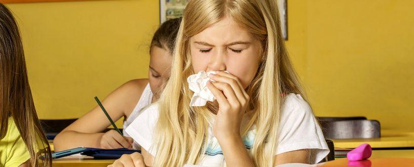 Zbliża się rok szkolny, aznim sezon nagrypę. Dlaczego dzieci wewrześniu chorują częściej?